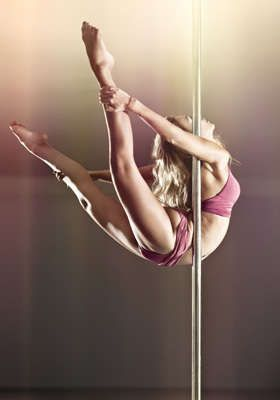 pole dance yogini