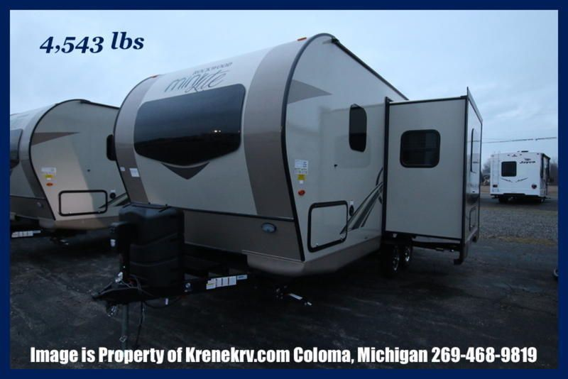 Check Out This 2018 Forest River Rockwood Mini Lite 2104s Listing