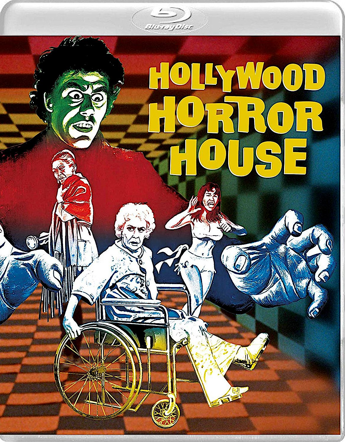HOLLYWOOD HORROR HOUSE BLURAY (VINEGAR SYNDROME) in 2020