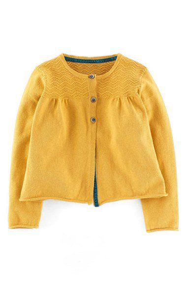 0f767a740571 Mini Boden Cotton   Cashmere Cardigan ~ Nordstrom
