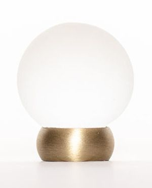 Fresh Brass Ball Knob