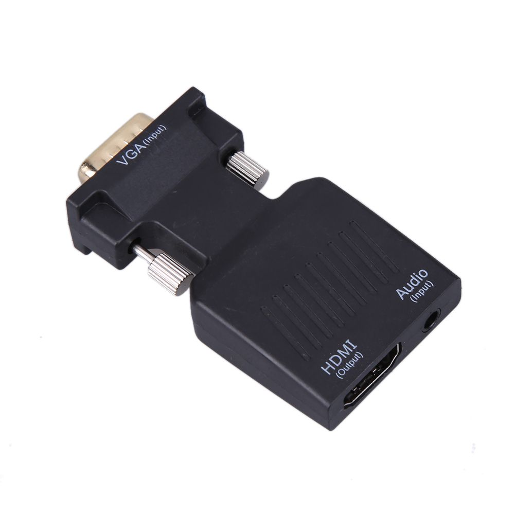 New 1080p Vga Male To Hdmi Female Video Converter Adapter