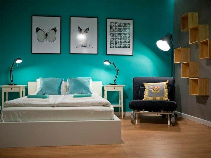 22+ Deco chambre turquoise et gris trends