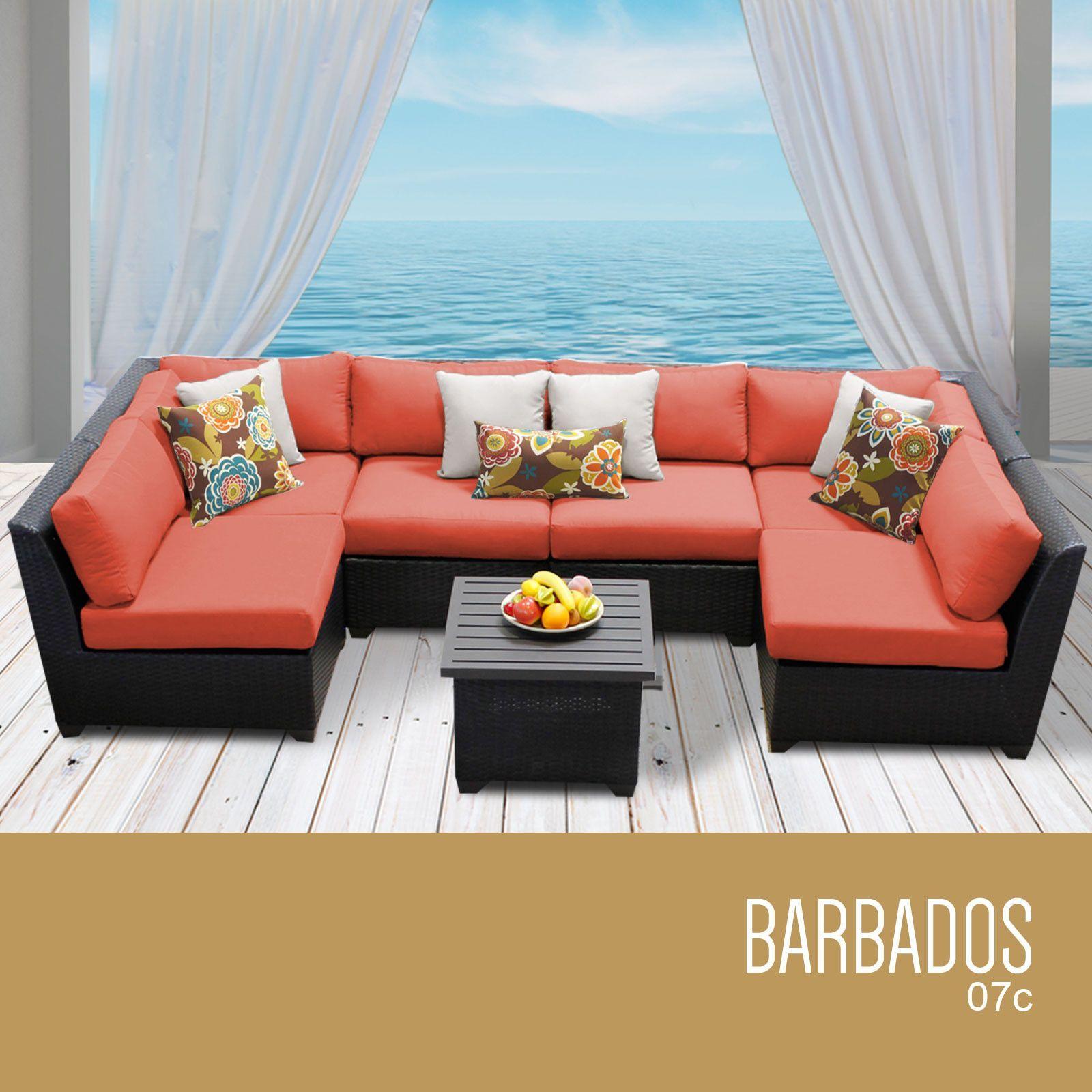 Best Barbados 7 Piece Outdoor Wicker Patio Furniture Set 07C Outdoor Wicker Patio Furniture Wicker 400 x 300