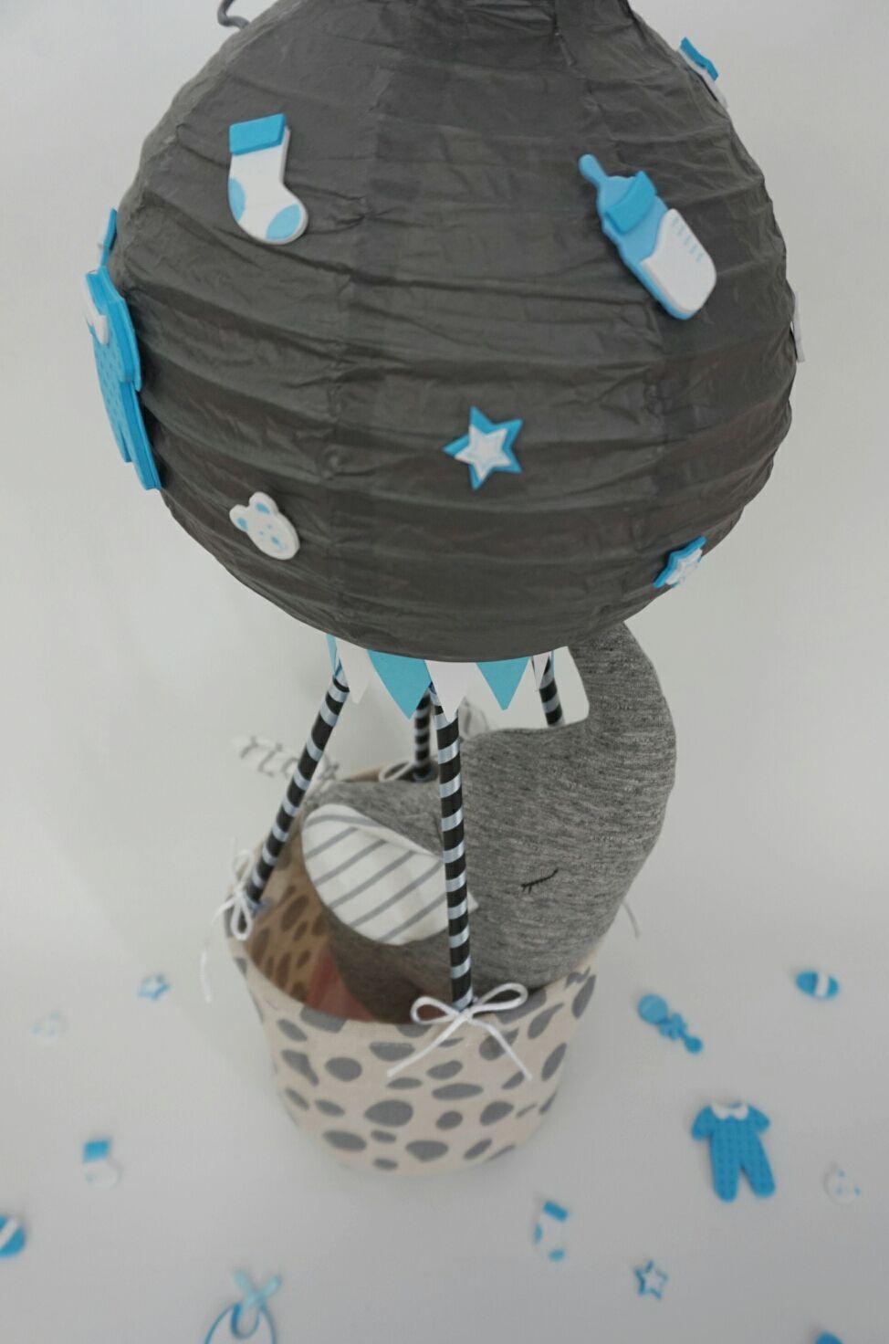 DIY Heißluftballon basteln, die Anleitung dazu findest du auf meinem ...