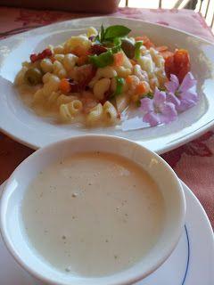 Ensalada de pasta tiburón con salsa de yogur - Tvcocina . Recetas de Cocina Gourmet Restaurantes Vinos Vídeos