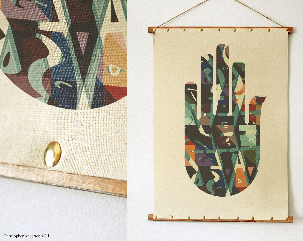 """The Hand of Fatima"" #poster  #anderton #art #print #arabesque"