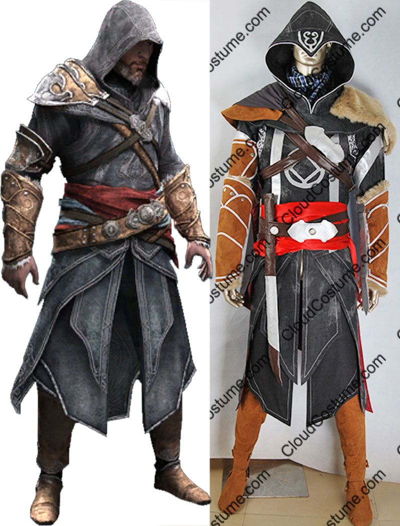 Assassin/'s Creed Revelations Altair Battle Suit Outfit Halloween Cosplay Costume
