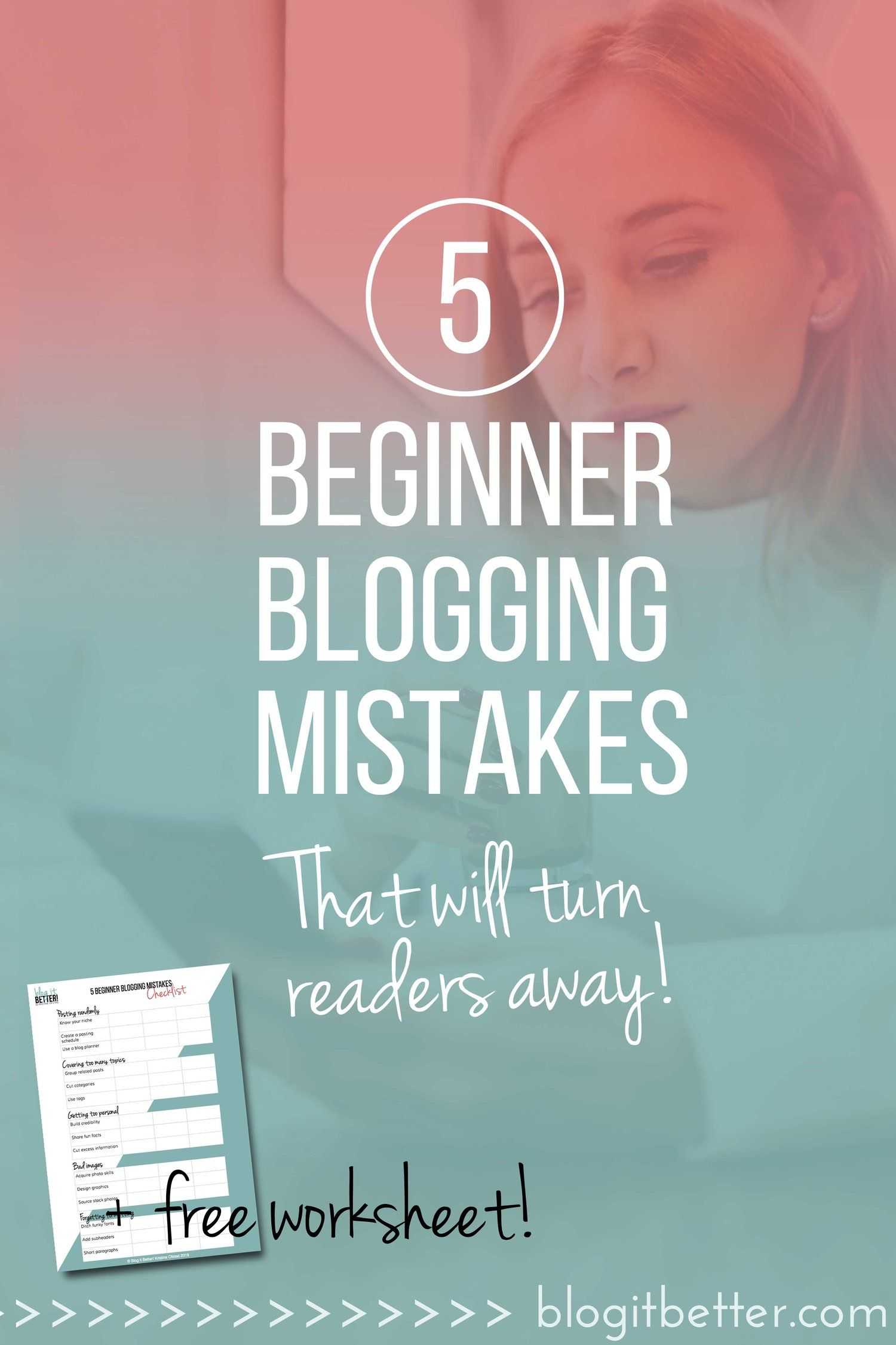 Are You Making These 5 Huge Beginner Blogging Mistakes