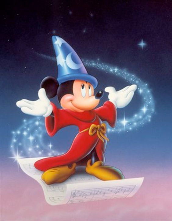 Sorcerer Mickey | Disney Luv | Pinterest