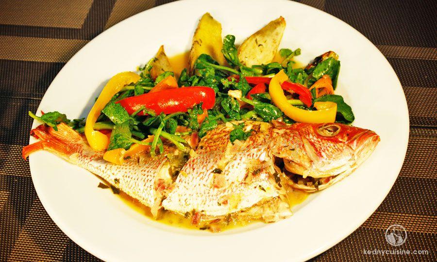 Le poisson gros sel est l une des fa ons typique de for Salade poisson