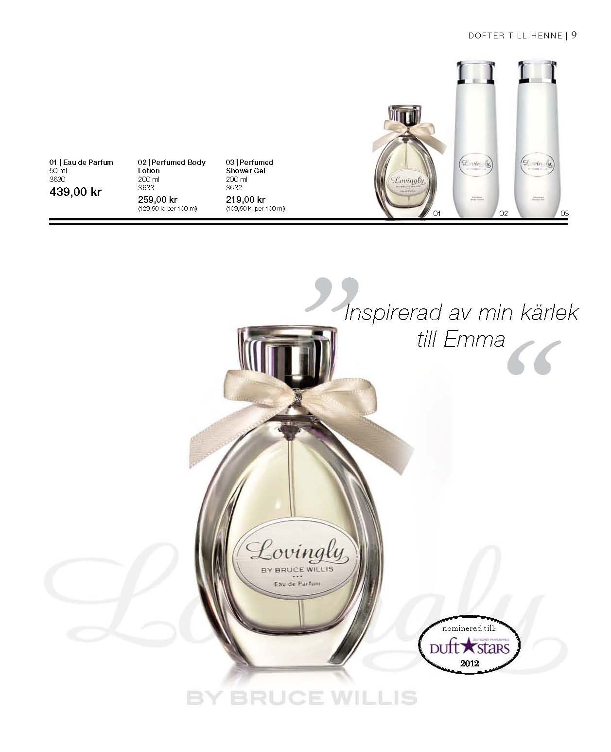Lovingly by Bruce Willis Eau de Parfum | aloeveraskonhet.se