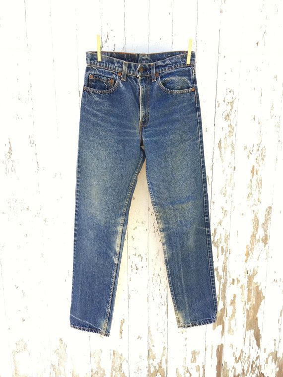 6cac4f35d7c Vintage LEVIS 505 Jeans 27 Waist   Vintage Denim   Levis 505 jeans ...