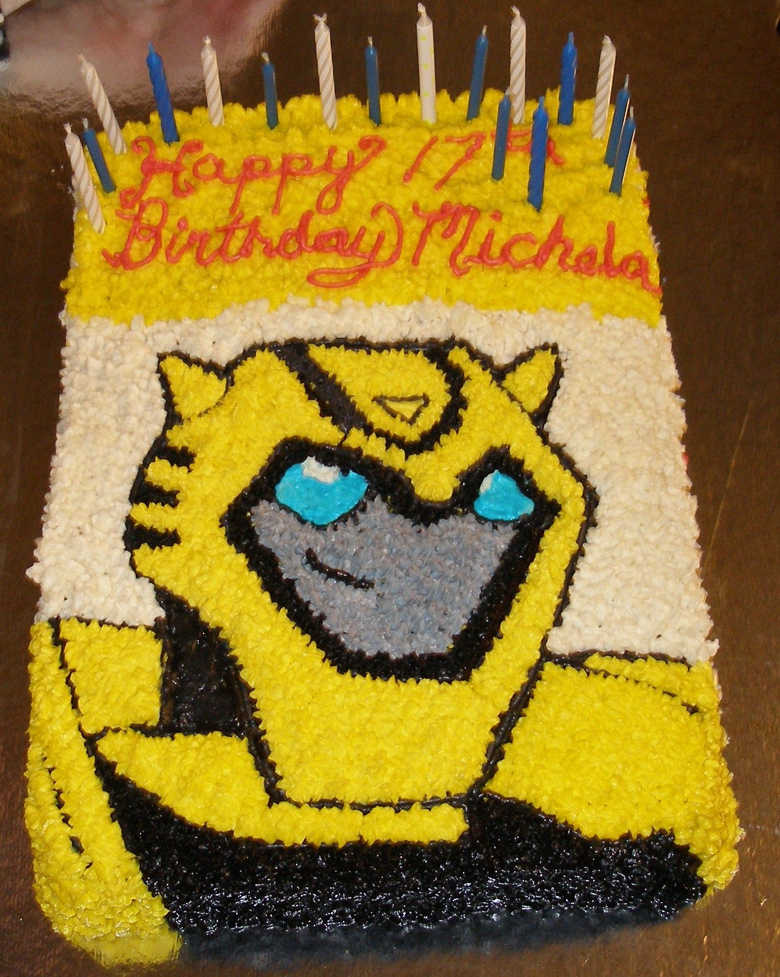 Easy Transformer Cake Ideas