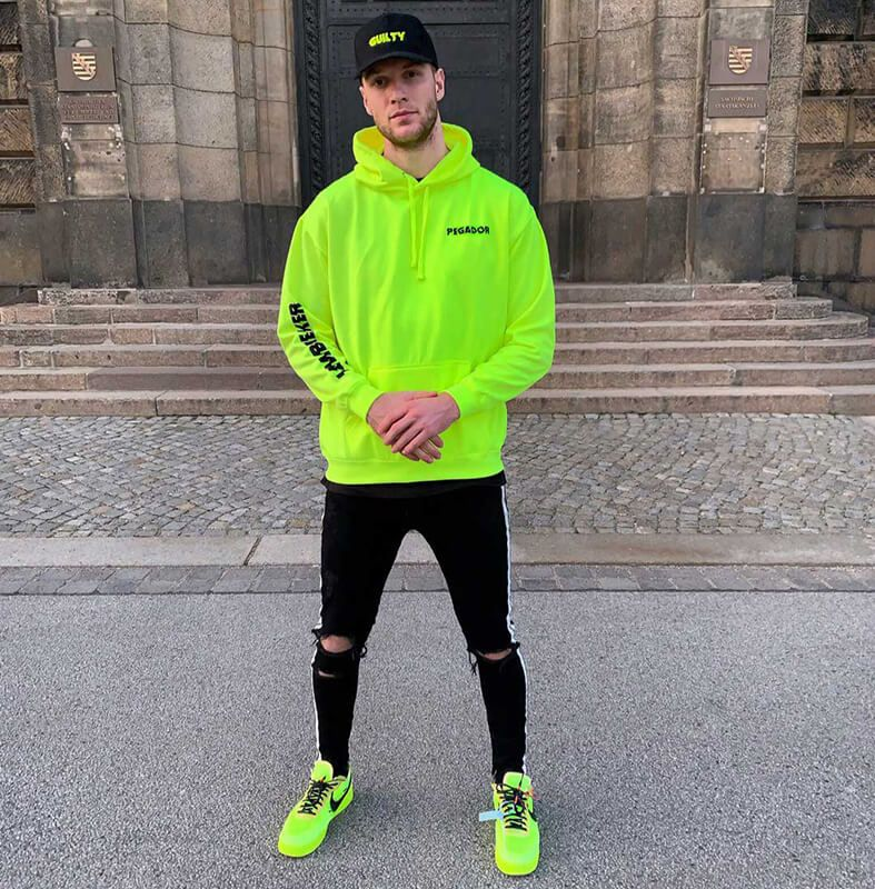 Buy the best Nike OffWhite Air Force 1 Low / Volt replica