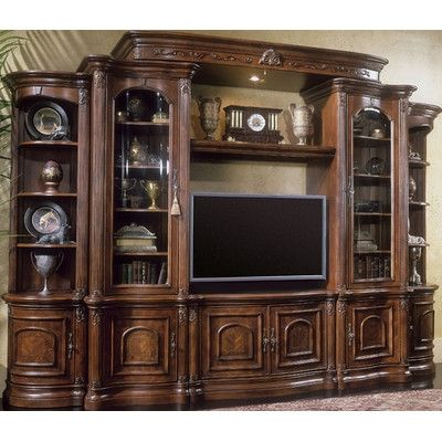 Michael Amini Villagio Entertainment Center Wayfair