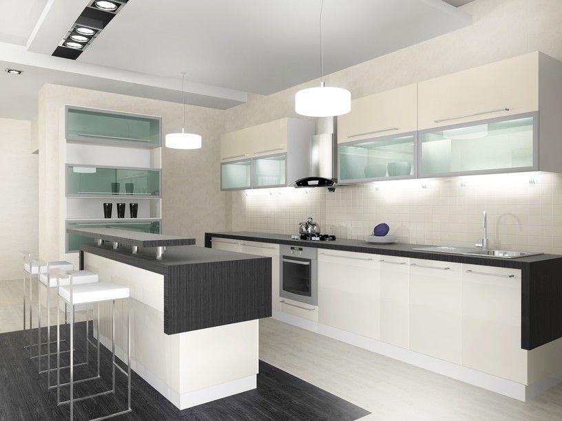 Ultra moderne weiße Küche 36 Wunderschöne Weiße Luxus - modern küche design