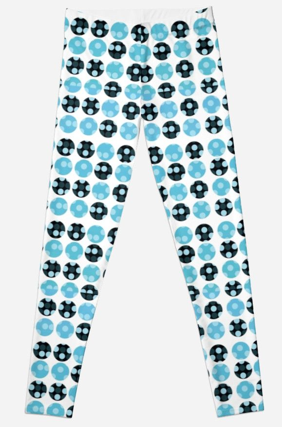 dots background  by VanGalt    #leggings , #dots , #polkadots , #pattern , #blue ,