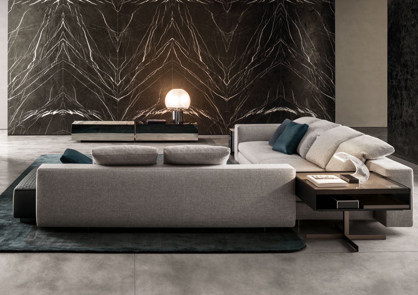 Yang Modular Sofa Minotti - Milia Shop | INTERIOR DESIGN | Pinterest |  Modular sofa, Interiors and Counselling room