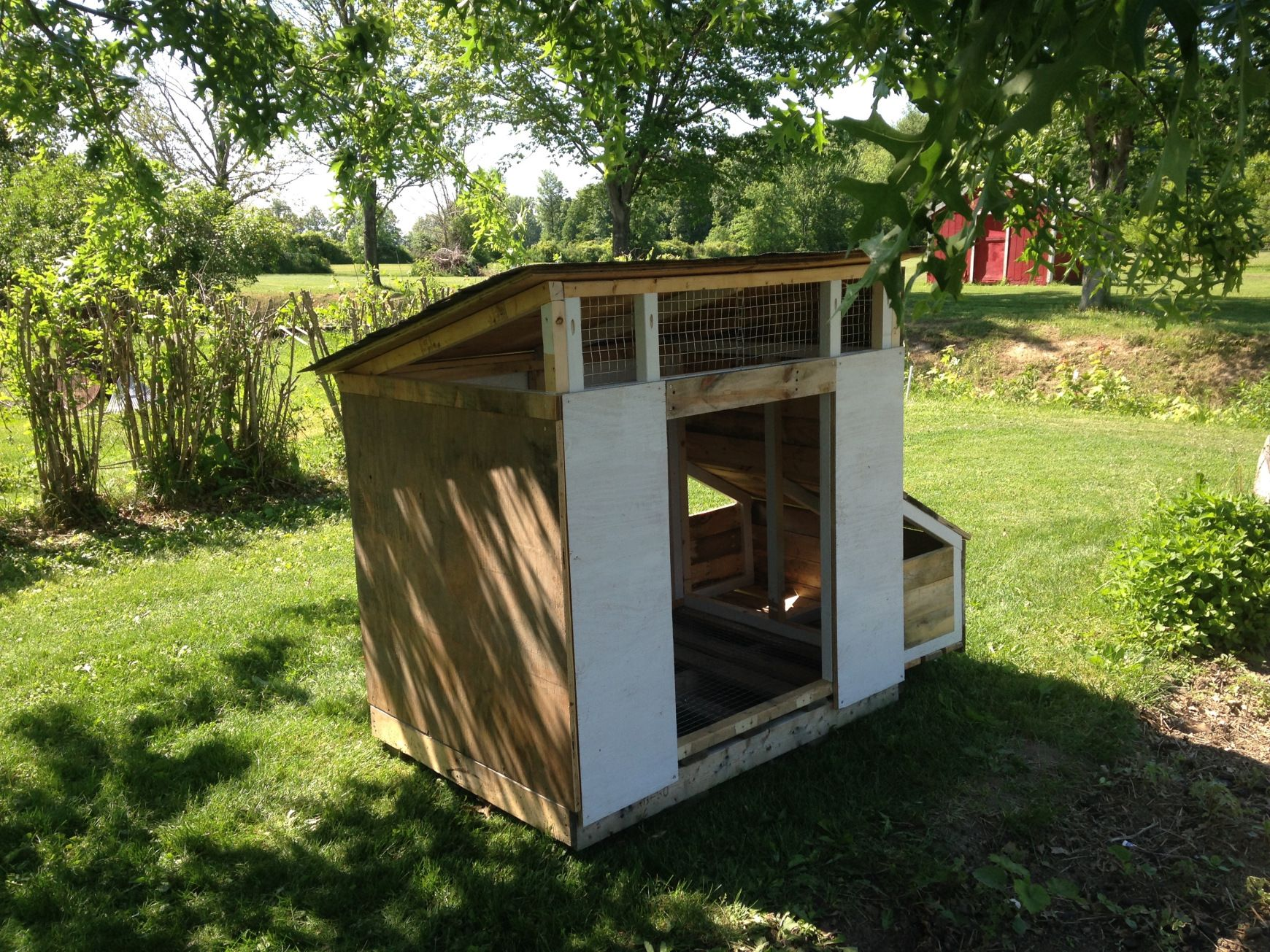 Diy duck house made from scrap wood our duck journey