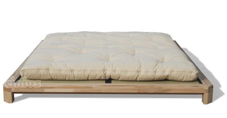 Japanisches futonbett  Lit en bois japonais