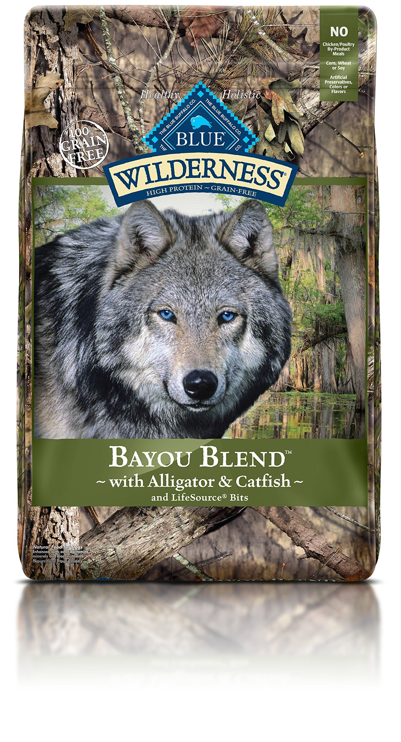 Blue Buffalo Wilderness Bayou Blend High Protein Grain Free