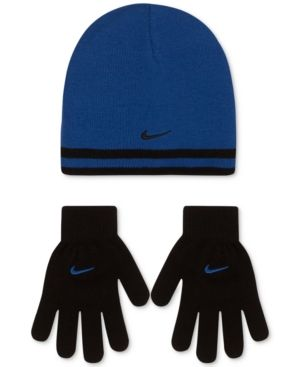 Nike 3-Pc. Reversible Stripe Hat   Gloves Set 2c799bbe057c