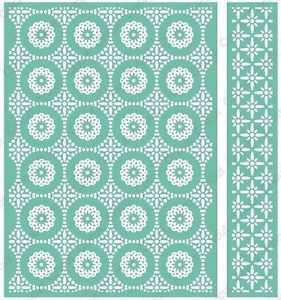 Image result for anna griffin cuttlebug embossing folders circular grid