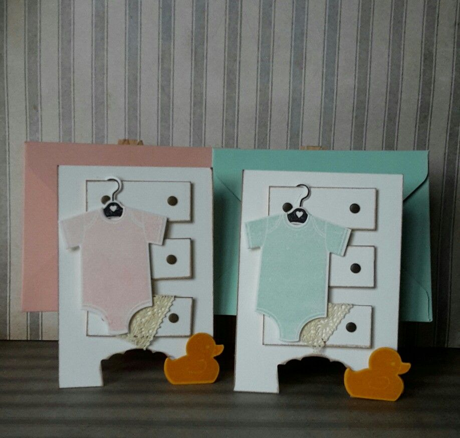 Baby cards with Stampin Up! Something for Baby and Made With Love
