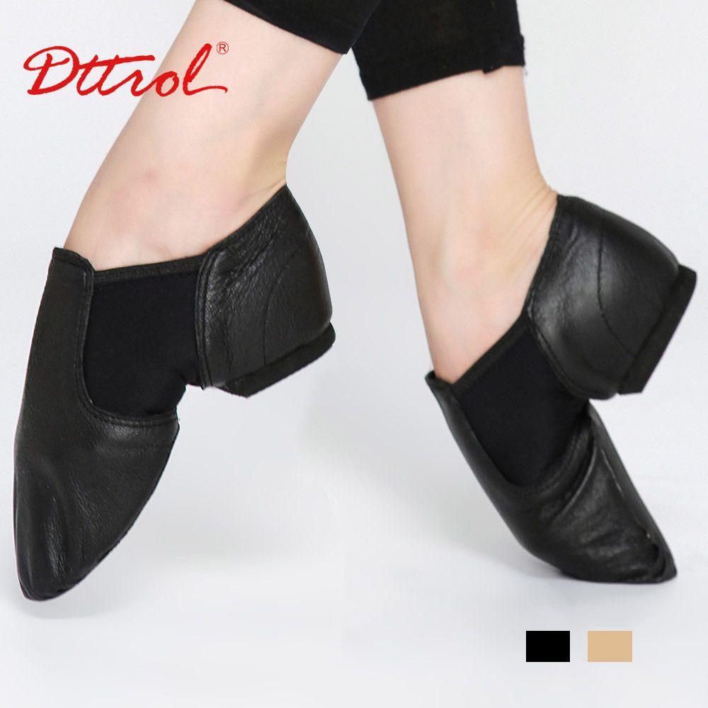 Zapatos de Jazz Zapatos de Baile Ballet Danza de Vaca Suave Deslizamiento Negro de Encaje Para Mujer Chica - Negro, 41