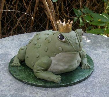 Magical Frog Prince Cake