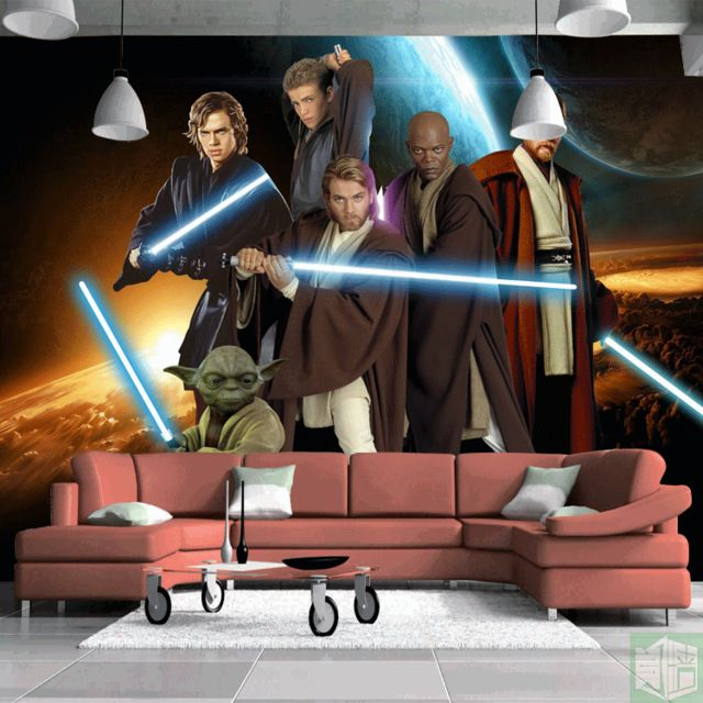 Star Wars Photo Wallpaper Custom Wallpaper Classic Movie 3d Wall