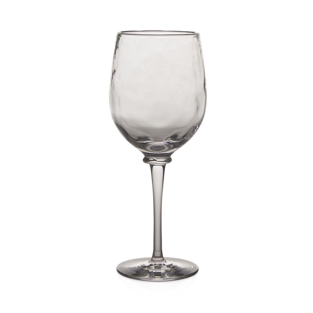 "Juliska Carine White Wine Goblet    Mouth-blown glass   Dishwasher safe   Imported   3.25""W x 8.25""H   Web ID:1635427"