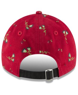 c5091120 New Era Cincinnati Reds Blossom 9TWENTY Strapback Cap - Red Adjustable