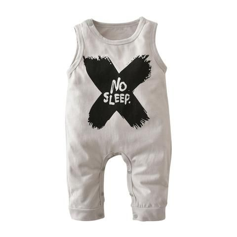 191d3cf77 2018 Hot selling Baby Boys Girls Rompers Summer Clothes Sleeveless ...