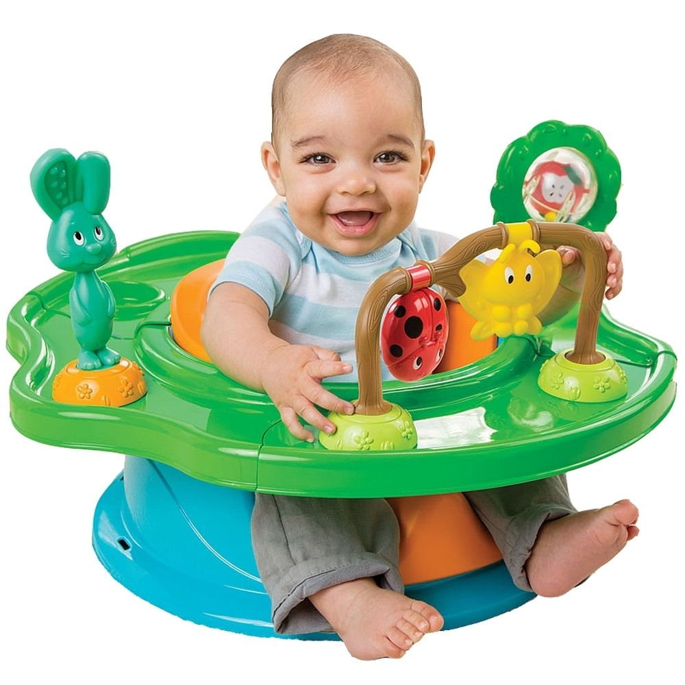 Summer Infant 3 Stage Super Seat Forest Friends Baby Activity