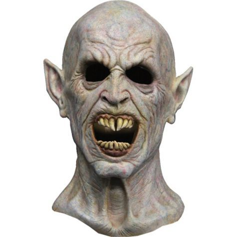 Latex Night Creature Vampire Mask - Party City