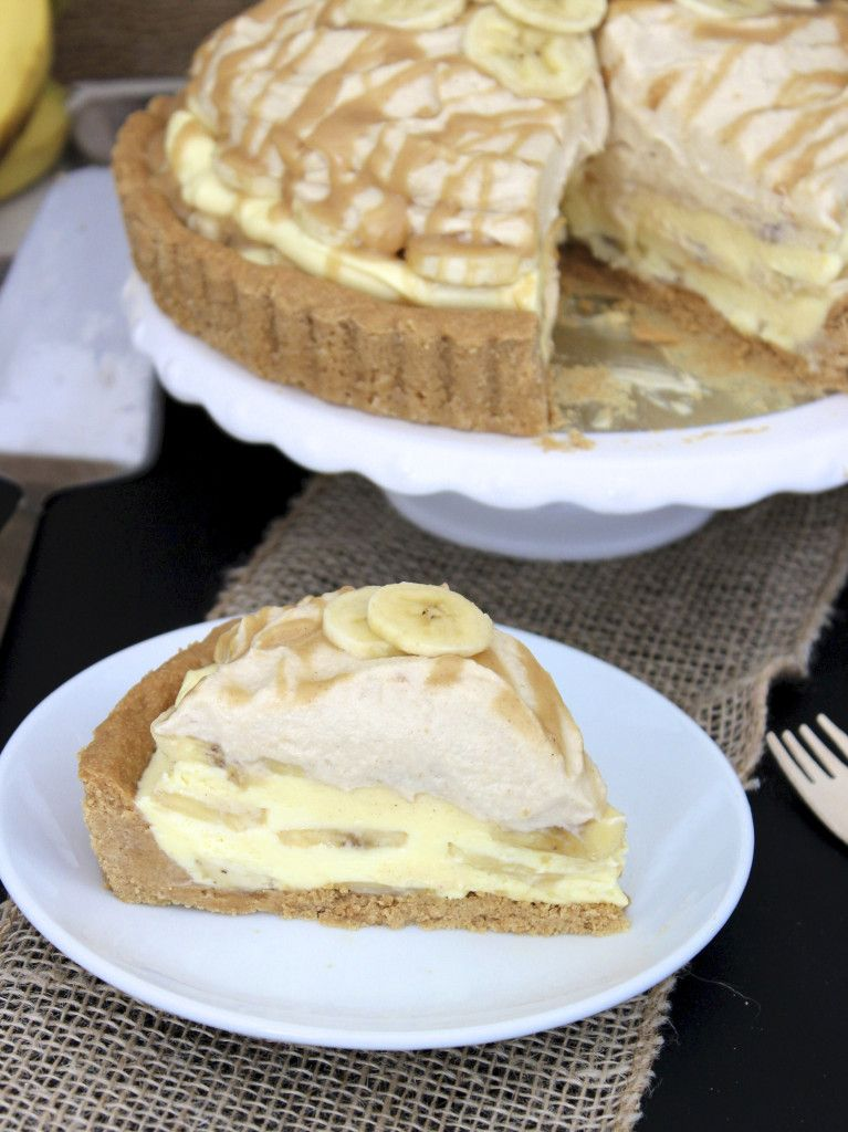 Share Tweet + 1 Mail Banana cream pie taken to a whole new level with the addition of peanut butter in the crust, the ...