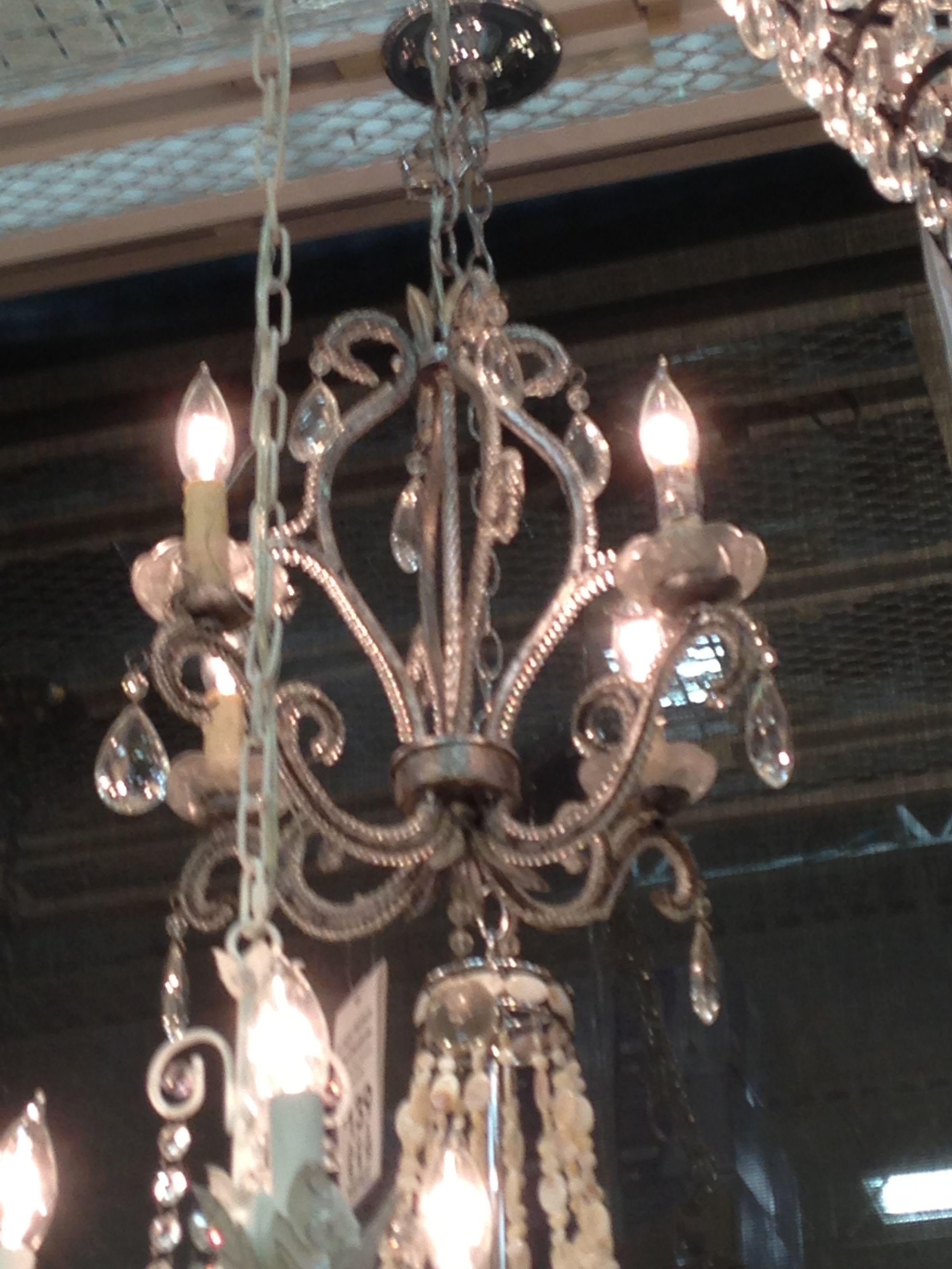 My coop chandelier!!