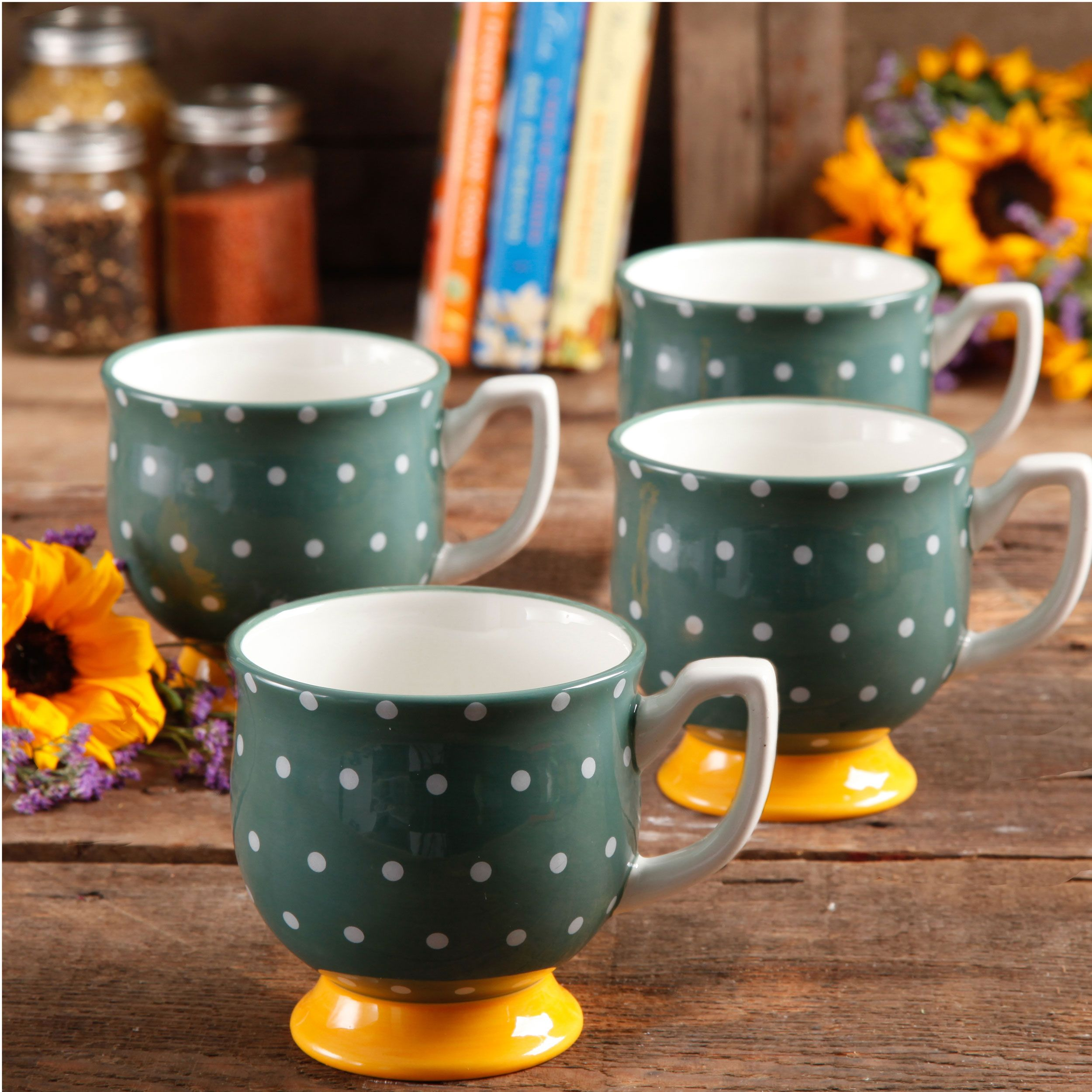 Mugs for Miles! Pioneer woman dishes, Pioneer woman flea