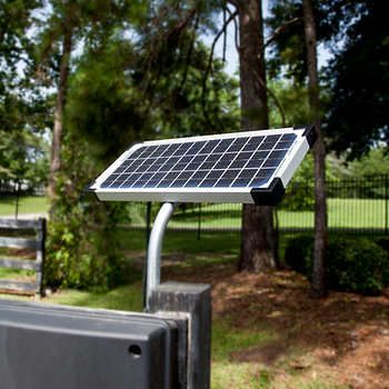 Mighty Mule Cascade 14 Dual Steel Driveway Gate Solar Panels Solar Panel Kits Best Solar Panels