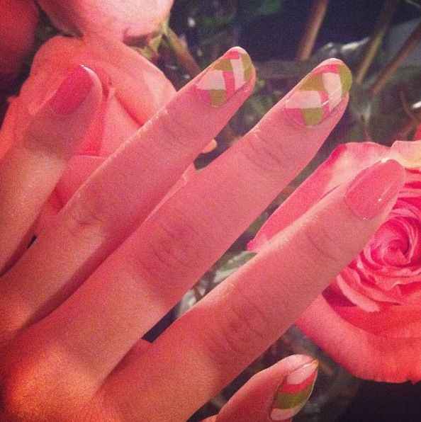 Fish braid nails :)