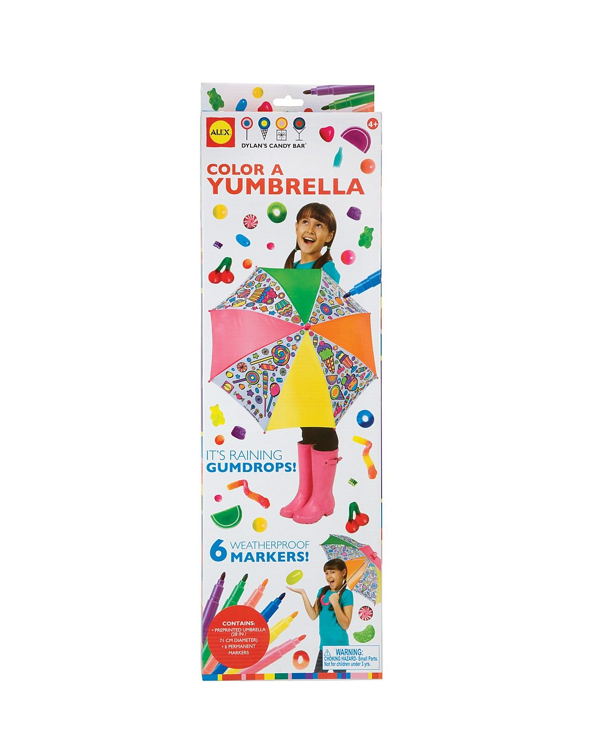 Alex Toys Color An Umbrella Ages 4 Kids Bloomingdale S Create And Craft Craft Kits For Kids Crafts