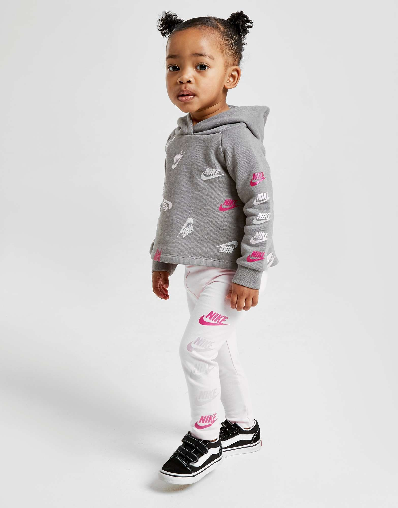 nike girls all over print futura tracksuit infant jd sports nikes girl tracksuit kids fashion www pinterest co kr