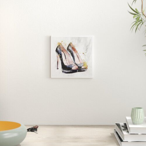 East Urban Home Poster Lauf auf ihnen in Gold | Wayfair.de #homeentertainment