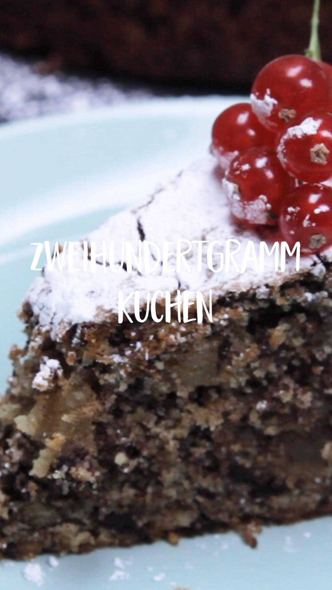 Schon vom Zweihundertgramm-Kuchen gehört?
