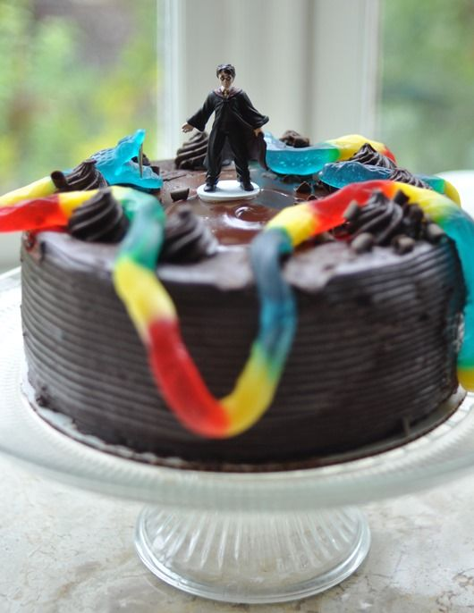 basilisk cake Perfect Party Ideas Pinterest Harry potter