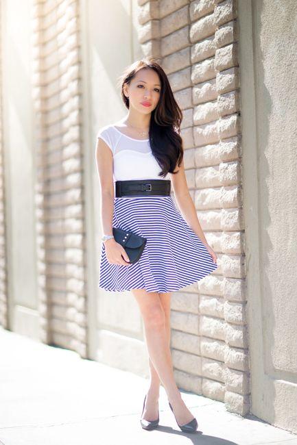 4 Ways To Wear Striped Strapless Dress On Www Stylebyalina Blog