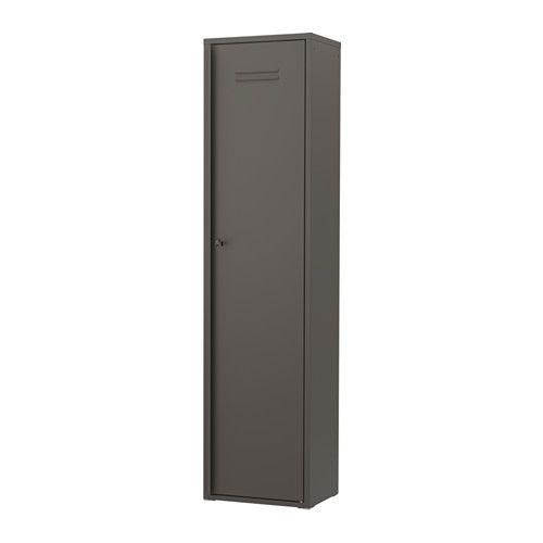 IVAR Skab med dør IKEA Skabet passer til IVAR opbevaringssystem, men kan også bruges fritstående.