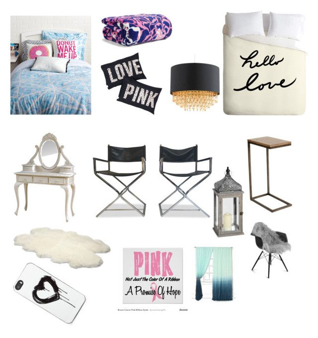 """""""My dream room and more"""" by beatuy101 ❤ liked on Polyvore featuring interior, interiors, interior design, home, home decor, interior decorating, Keeco, Vera Bradley, Ballard Designs and Natures Collection"""